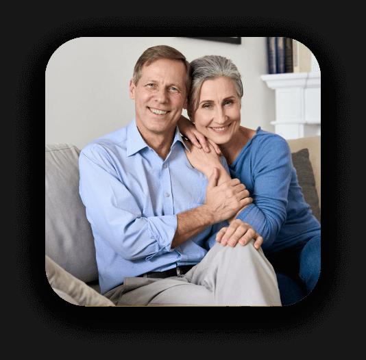 cliente feliz con seguro oncologico