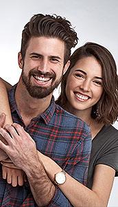 Imagen pareja feliz