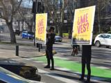 """Campaña para mejorar relación entre peatones, ciclistas y conductores """"¿Me Ves?"""""""