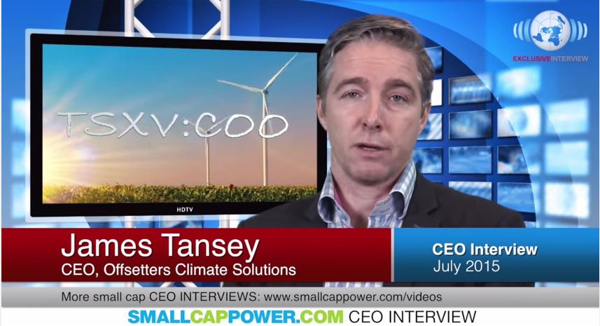 "Offsetters Climate Solutions (TSXV: COO) CEO Says ""We've Expanded Our Sustainable Commodities Business with Our Recent Acquisition"""