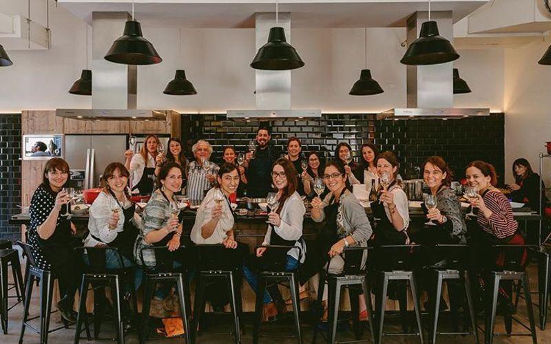 Evento Leyda Wines junto a las chicas de BLOGI en Kitchen Club