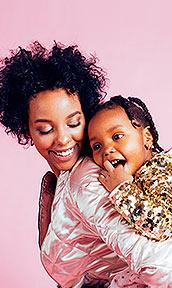 Imagen madre con hija