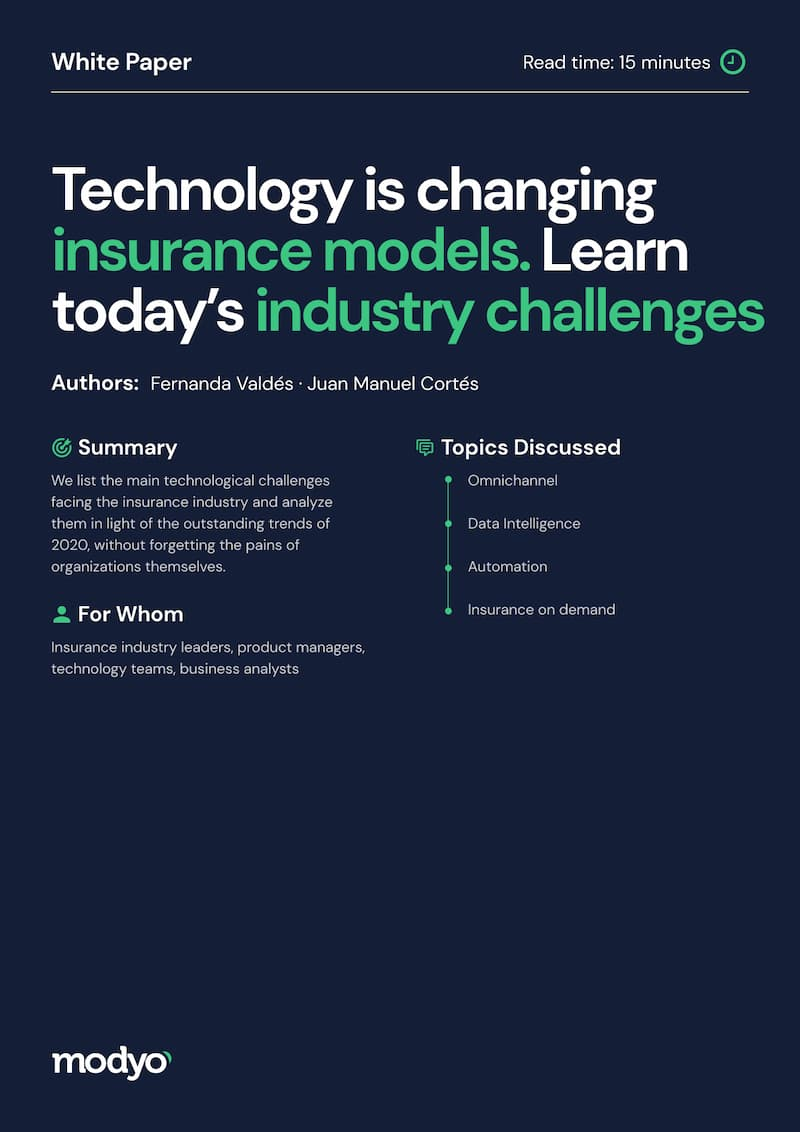 Technology is changing insurance models. Learn today's industry challenges.