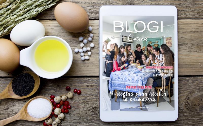 Lanzamiento Revista BLOGI Cocina - 1ª Edición Primavera 2016