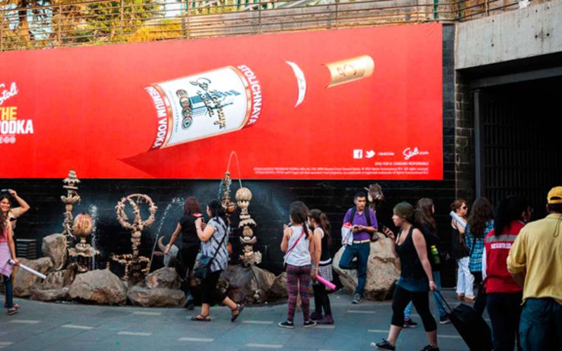 Campaña Stoli en Red Estacionamientos y Subcentro Escuela Militar