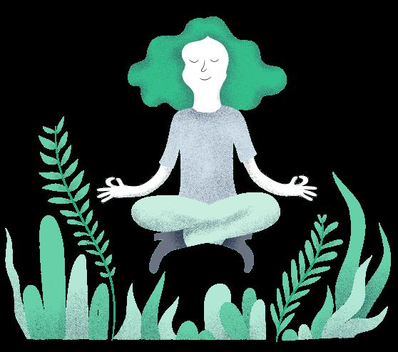 infografia meditacion modyo