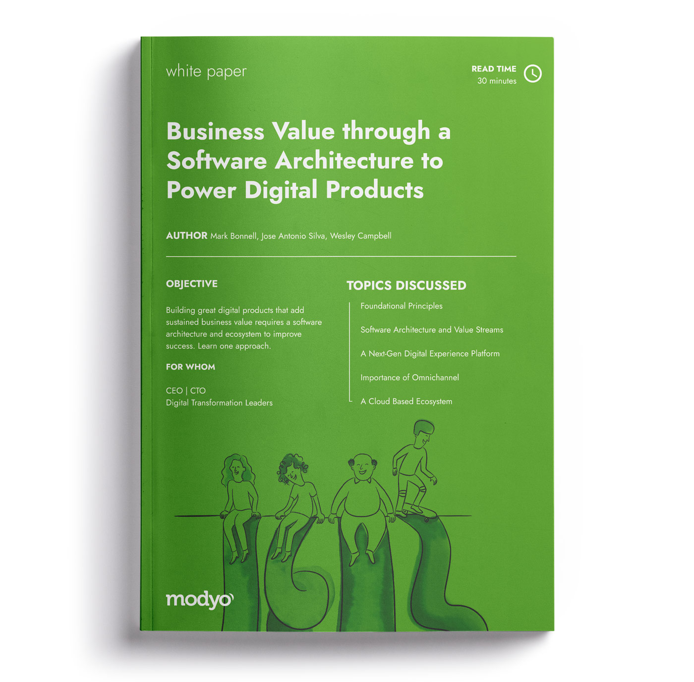 Business Value through a Software Architecture to Power Digital Products