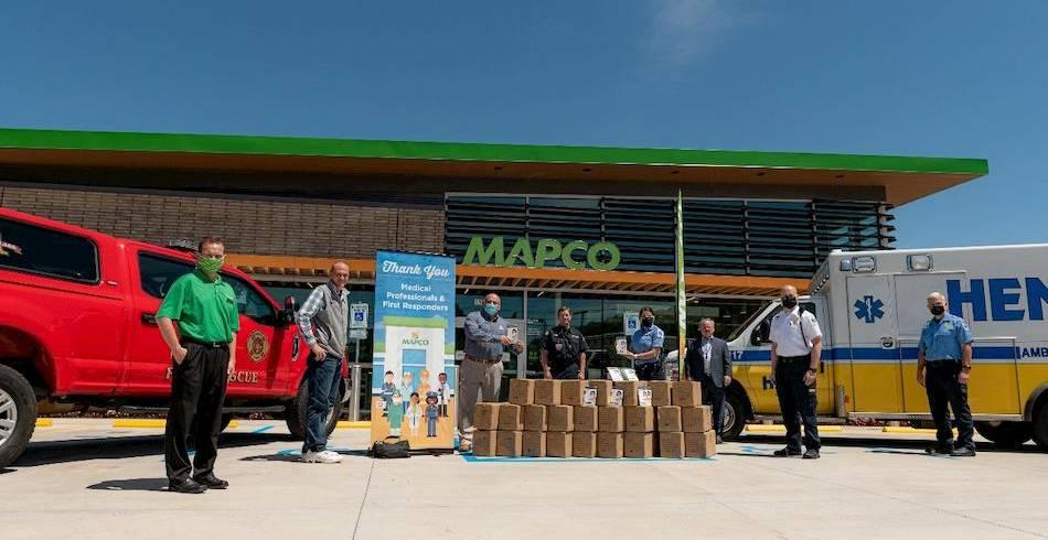 mapco masks donation